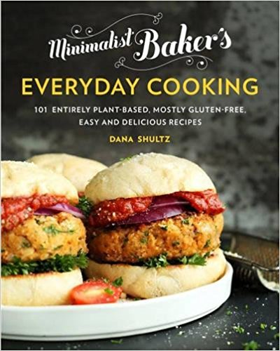 Veg cookbooks veglife des moines minimalist bakers everyday cooking by dana shultzfeaturing 101 all new simple vegan recipes that all require 10 ingredients or less 1 bowl or 1 pot forumfinder Images